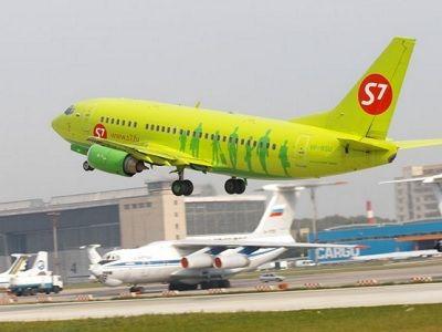 «Ведомости» S7 может закрыть часть рейсов из-за трудностей сметеосводками