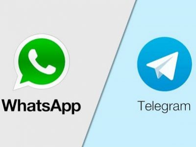 WhatsApp, Telegram. Фото: campuseye.ug