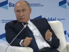 "Владимир Путин на форуме ""Валдай"". Скрин видео www.youtube.com/watch?v=9iYXJPx-1EQ"